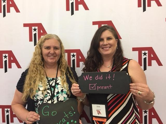 Nancy Molina and Christy Martin at TIA18 Conference