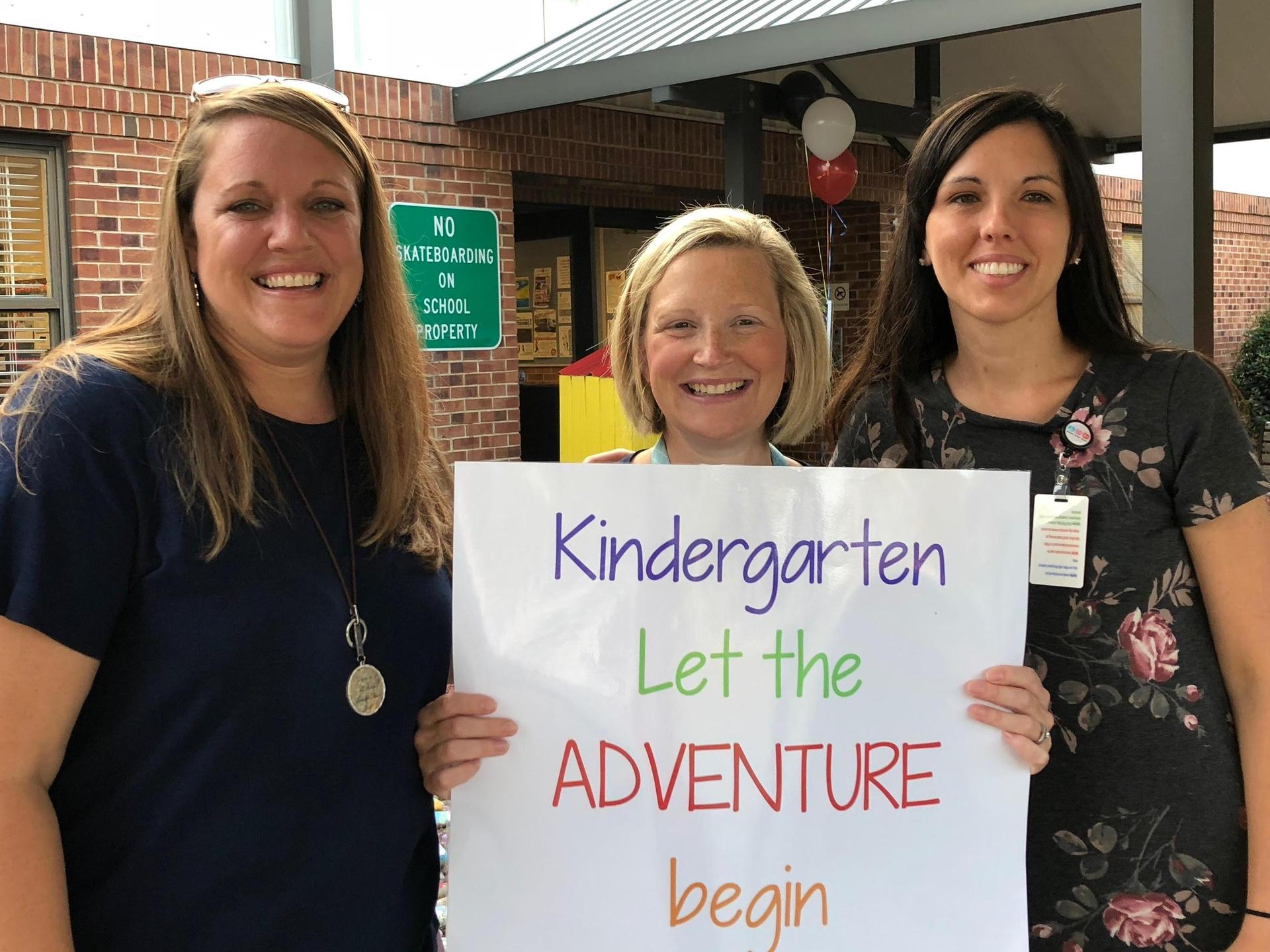 Kindergarten...Let the Adventure Begin!