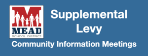 Supplemental Levy Information Meetings