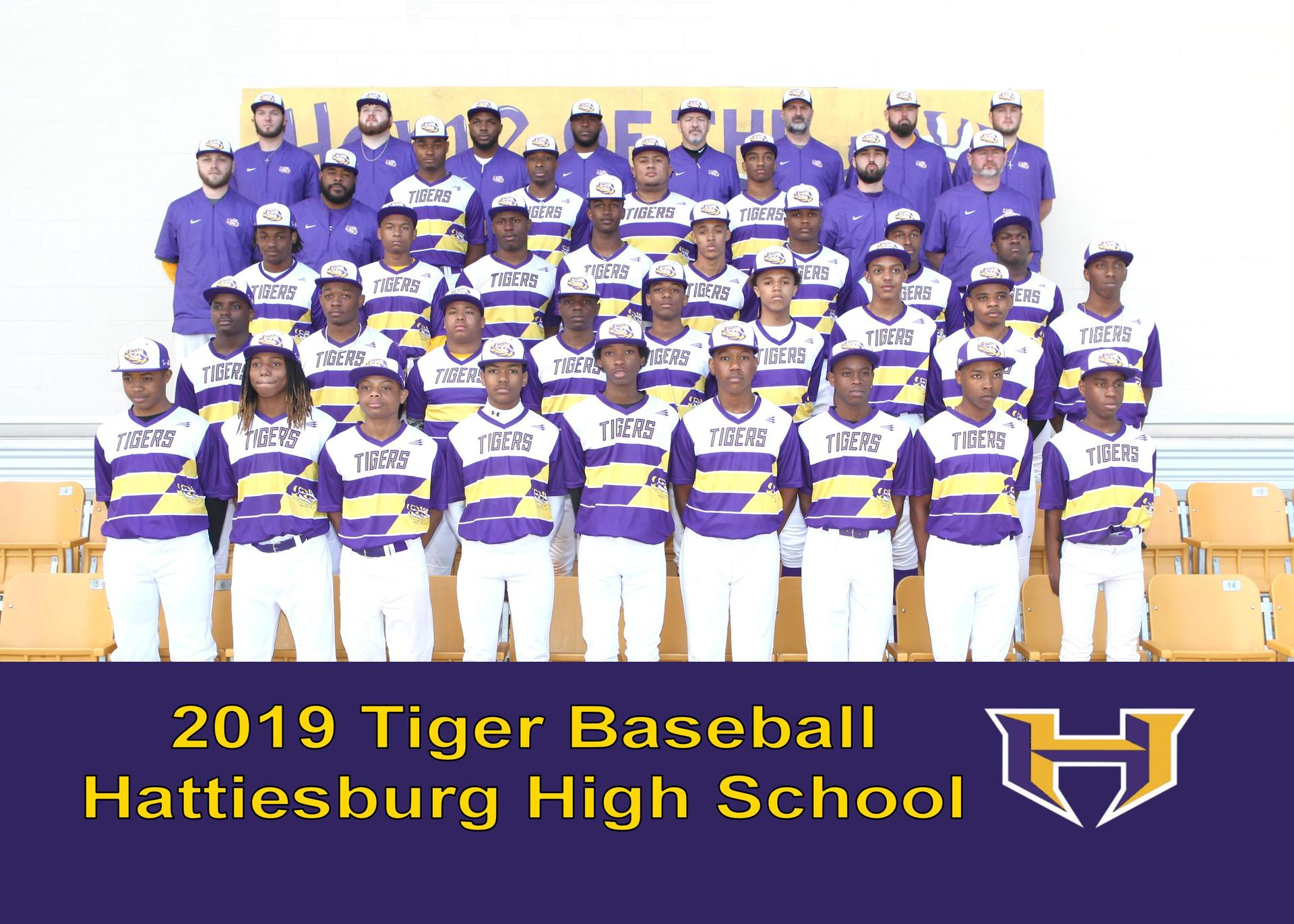 Hattiesburg High School Baseball Team