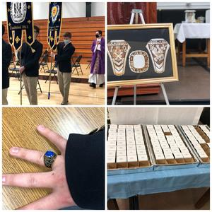 The 2021 Junior Ring Mass at Xavier