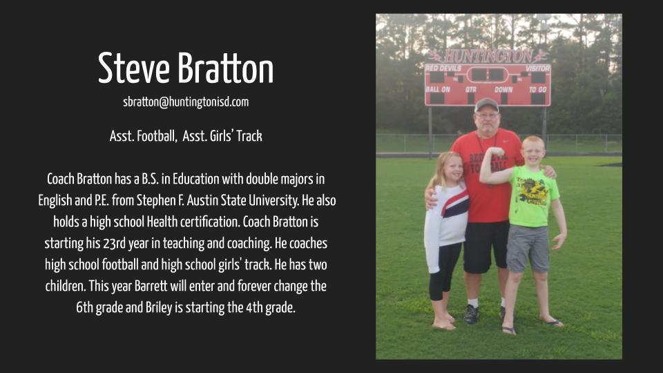 Coach Bratton