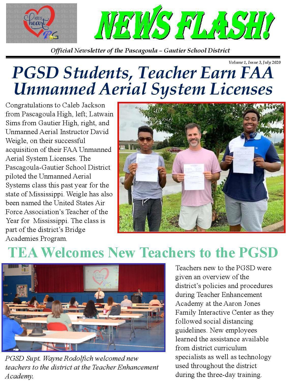 Vol. 1, Issue 3 drones, TEA