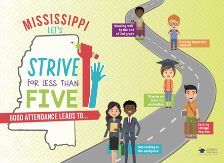Mississippi Launches 'Strive for Less Than Five' Thumbnail Image