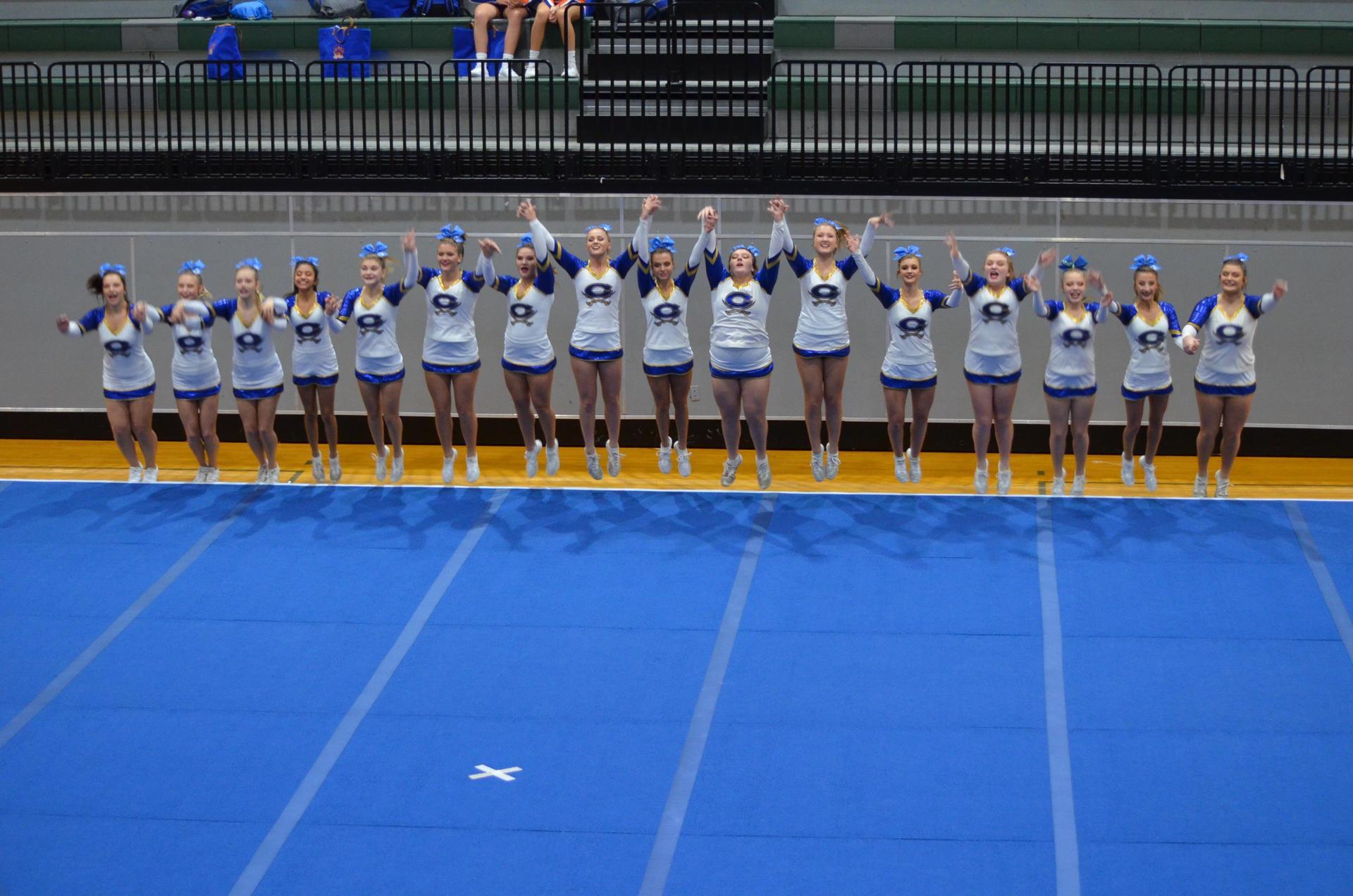 Cass High School Varsity Comp Cheer Squad