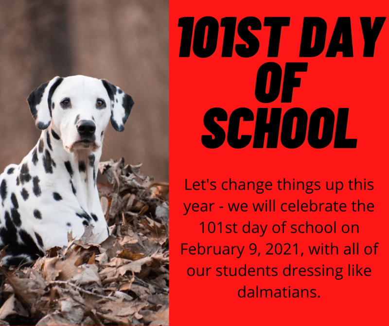 101st day of school... Dalmatian Style