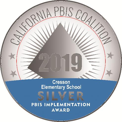 PBIS Silver Award logo
