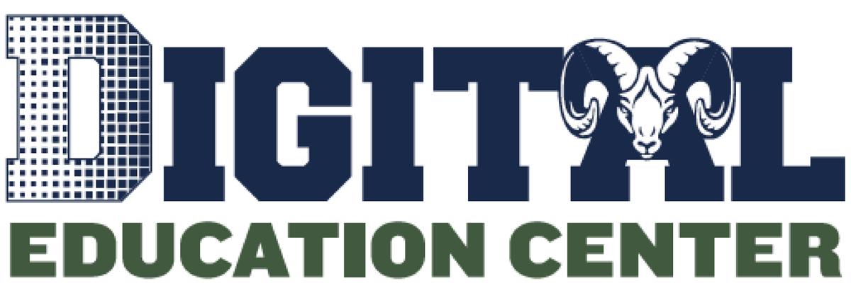 Digital Education Center Ram Logo