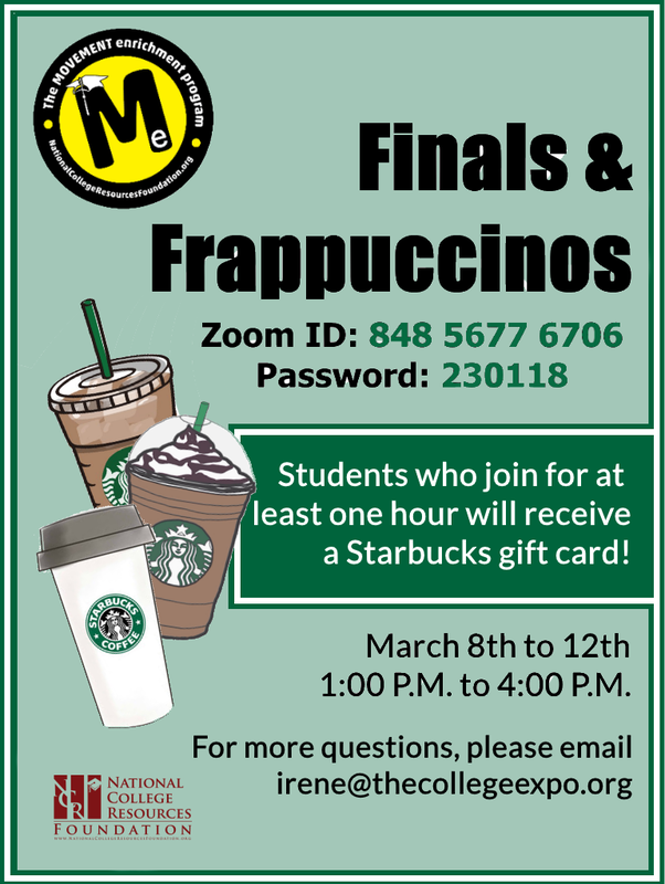 Finals and Frappuccinos Eng