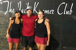 Olsen/Hung win Bay League Doubles