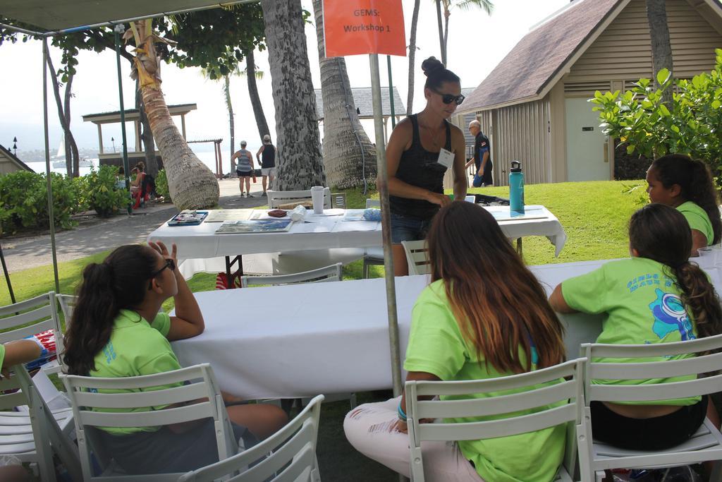girls at workshop