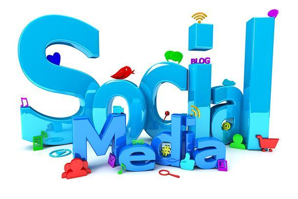 clip art of words Social Media