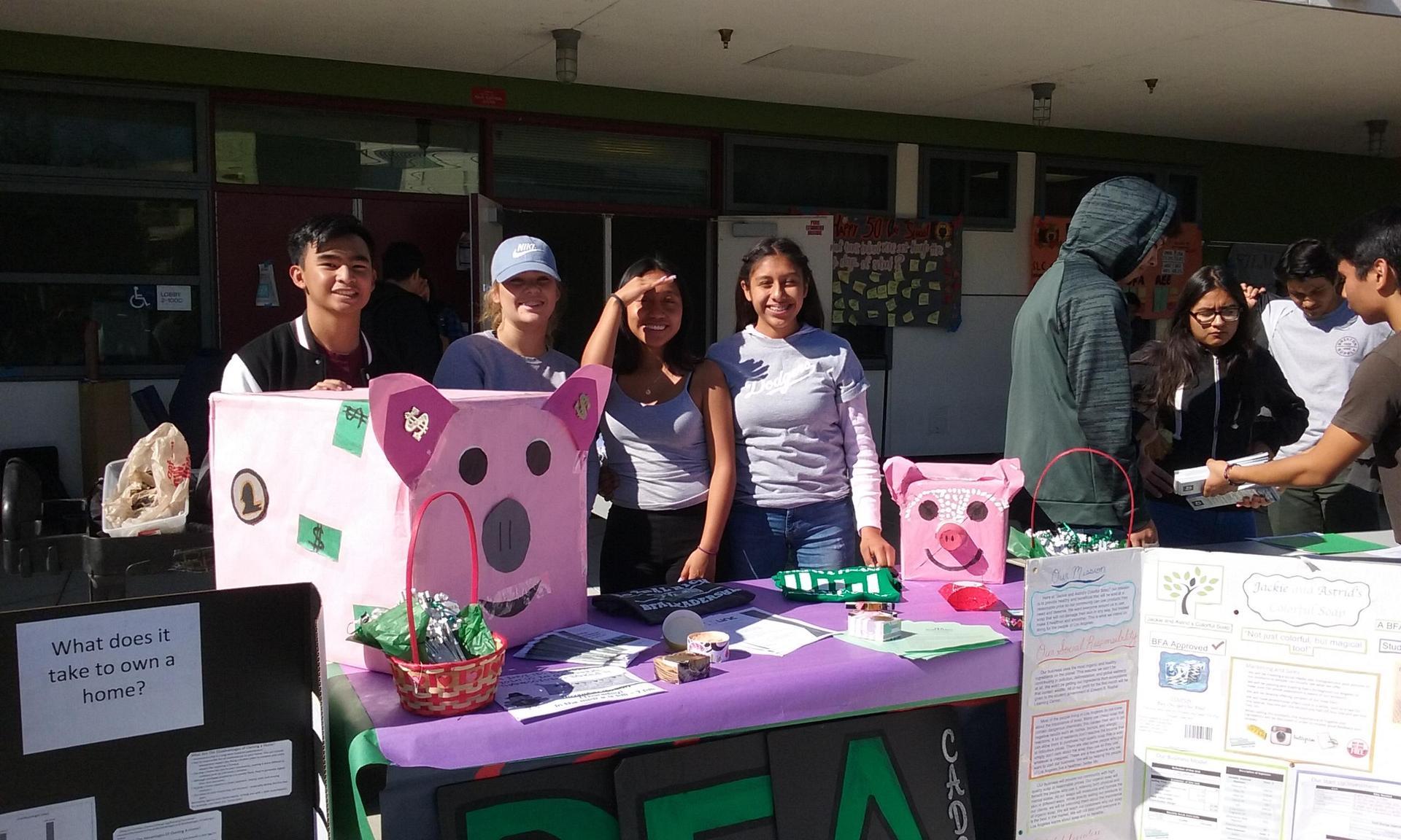 BFA Leadership Students represent BFA well.