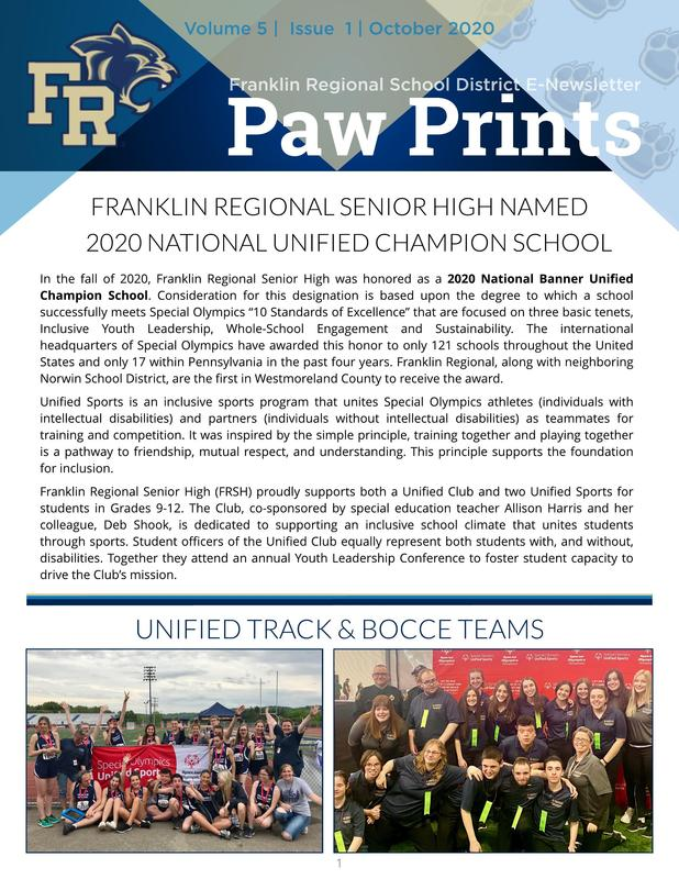 Paw Prints October 2020