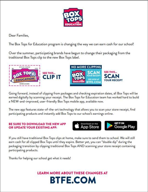 BOX TOPS are going Digital! Thumbnail Image