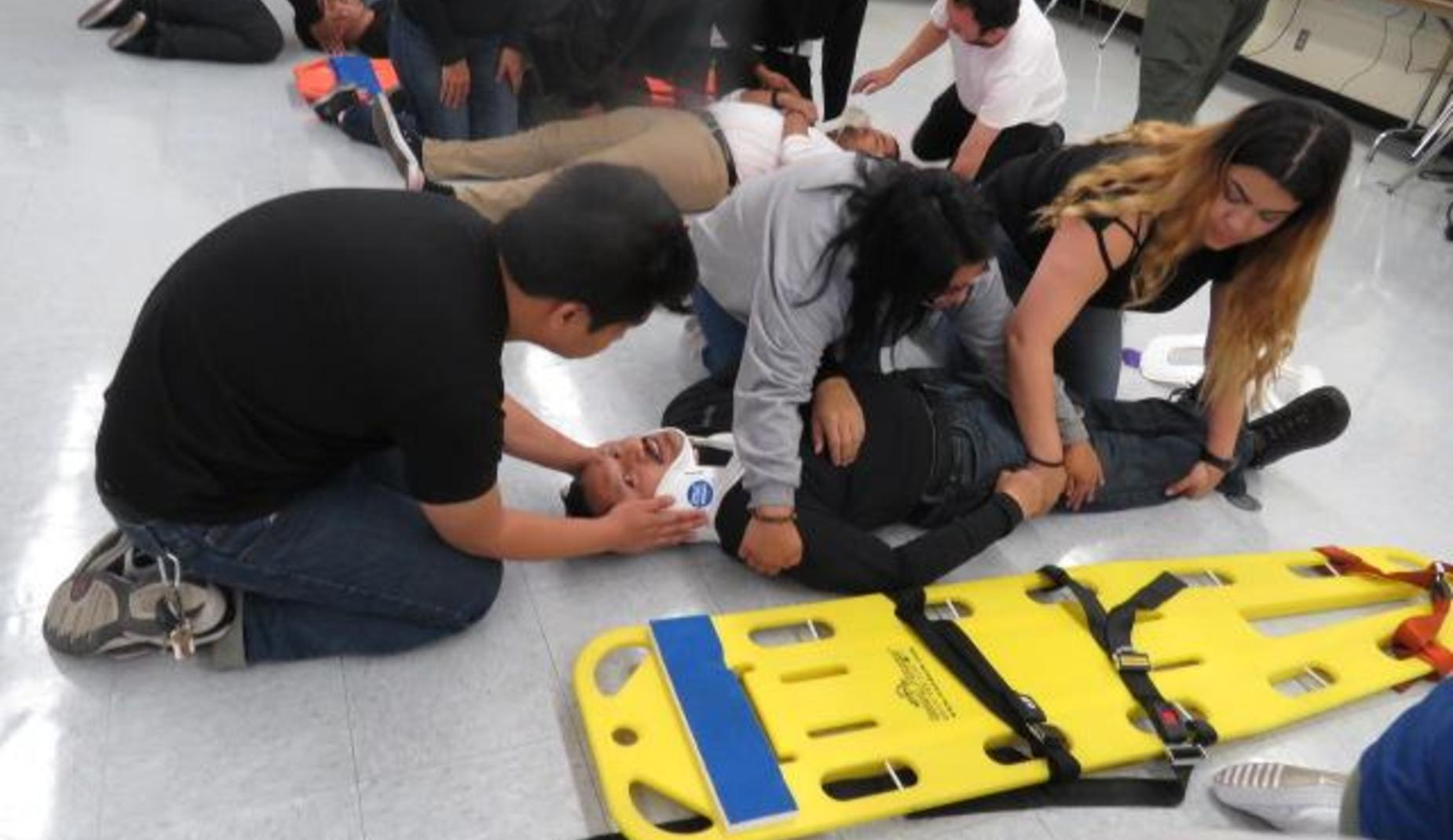 Integrated Education and Training (IET) First Responder Class