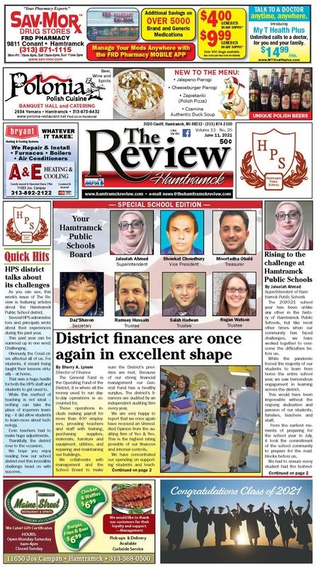 Hamtramck Review Special School Edition Featured Photo