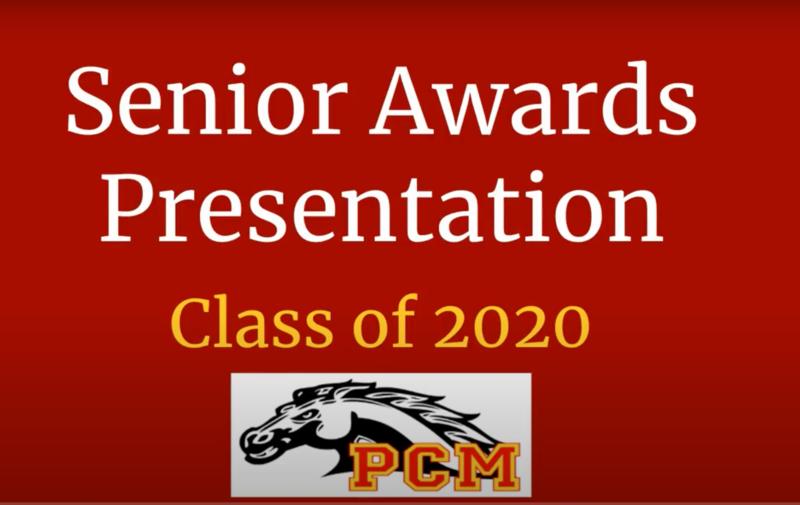 Senior Award banner