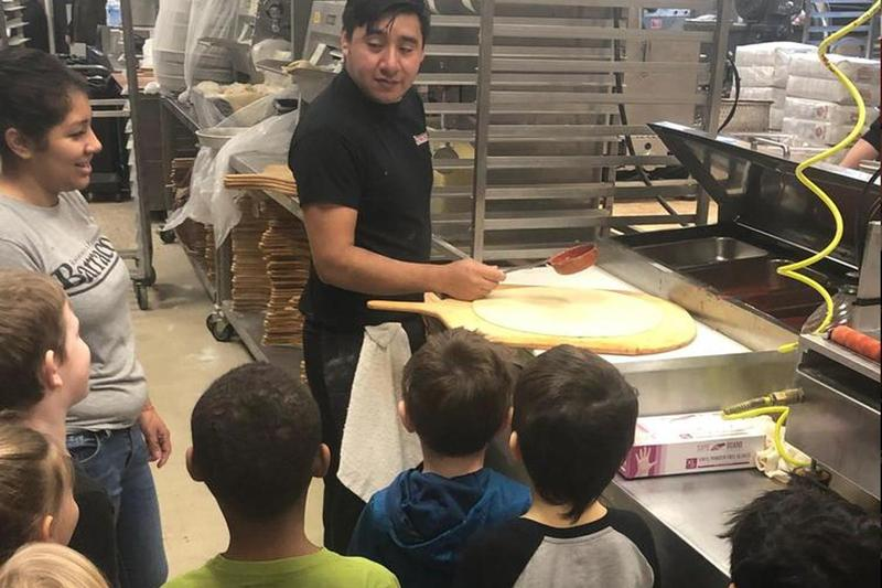 Kindergartners Learn How to Make a Pizza Thumbnail Image