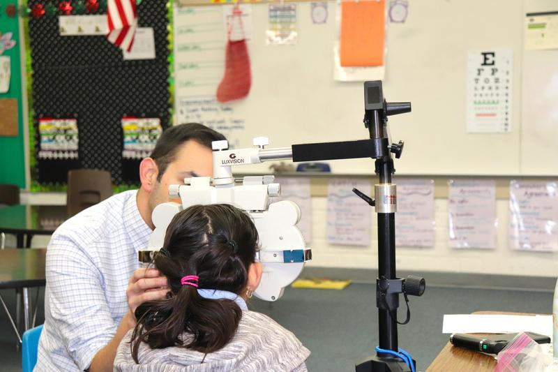 SWSD Students Receive Free Vision Screenings And Free Glasses Featured Photo