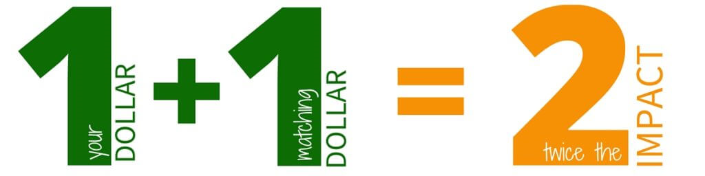 1+1=2 Donation
