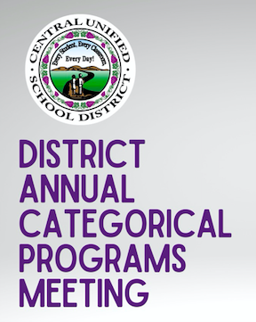 District Annual Categorical Meeting