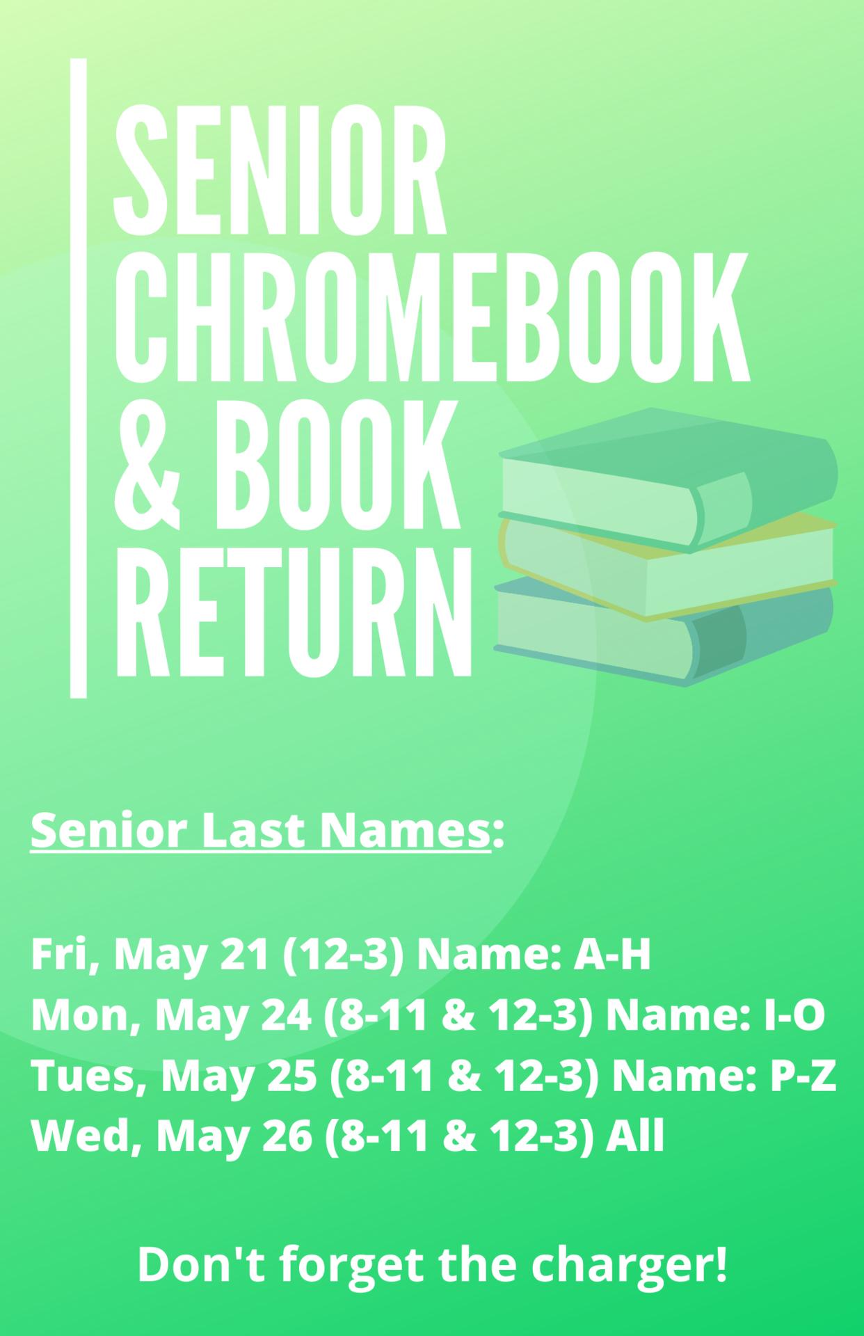 Senior Book Return