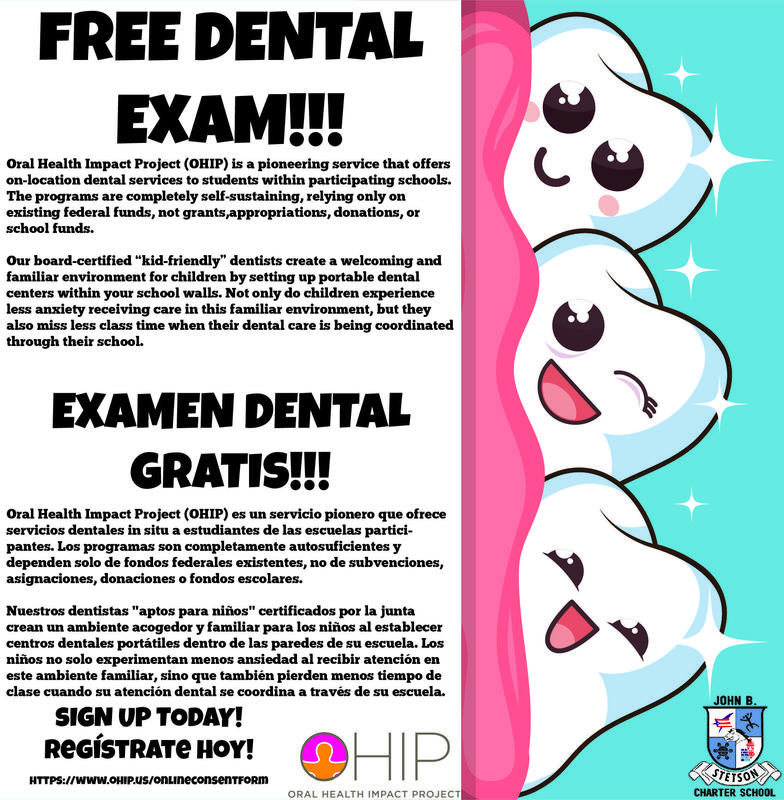 FREE DENTAL EXAM! ,EXAMEN DENTAL GRATIS!! Featured Photo
