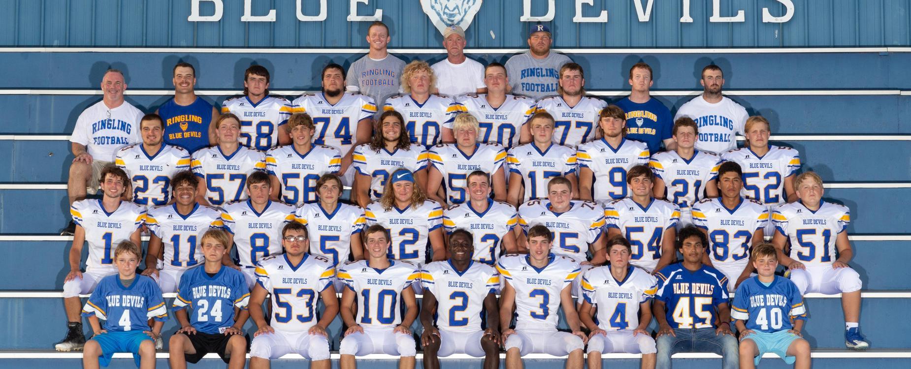 members of football team