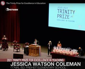 Trinity Prize Ceremony 2021