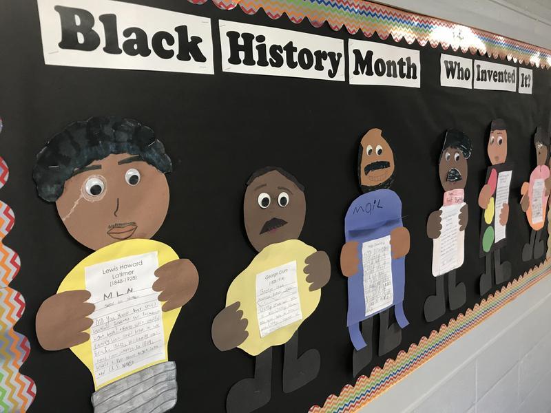 NEE Black History Month Display