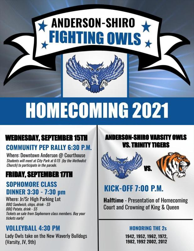 Homecoming Week Activities! Featured Photo
