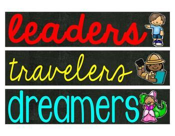 Leaders Travelers Dreamers Photo