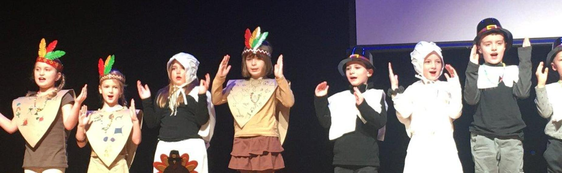 2nd grade Thanksgiving Play