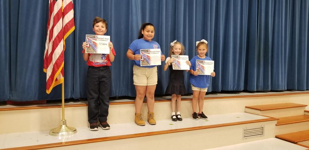4th Term Principal's Awards