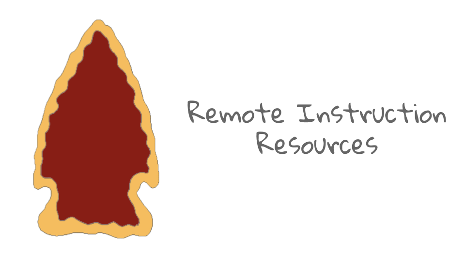 Remote Instruction Resources