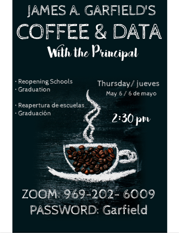 Coffee and Data with the Principal