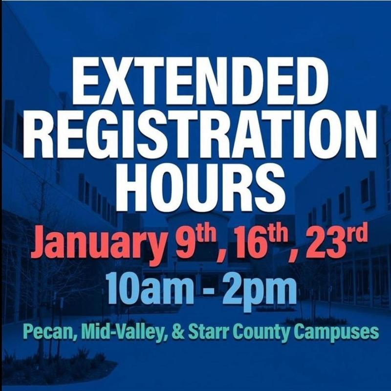 South Texas College Extends Registration Hours Featured Photo