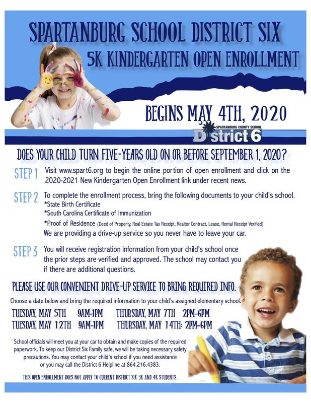 Kindergarten Open Enrollment