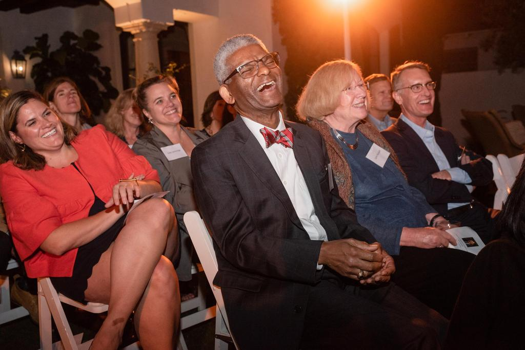 luminary reception audience