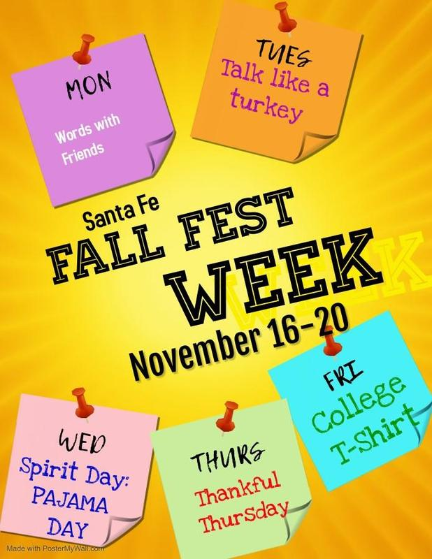 Fall Fest 🍁🍂 Week Nov. 16-20 Featured Photo