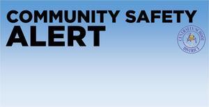 Community Safety Alert