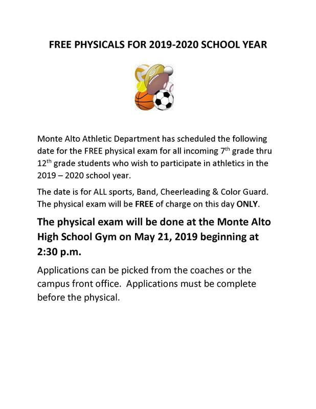 Free Physical for 2019-2020 Featured Photo