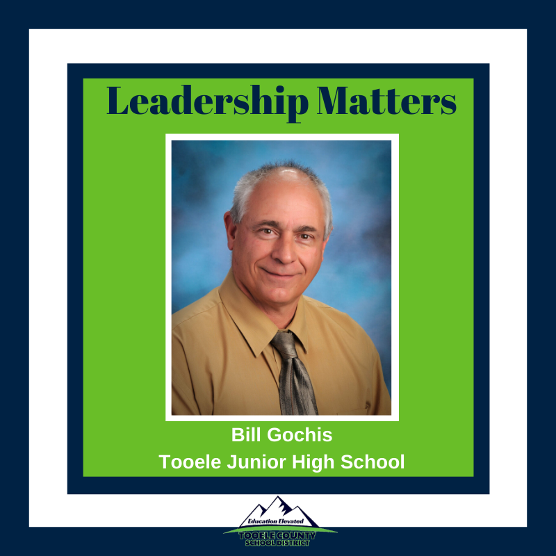 Tooele Junior High Principal Bill Gochis