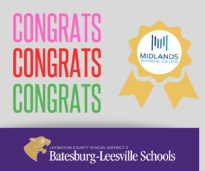 15 B-L High School Students Earn Degrees, Certificates from Midlands Technical College