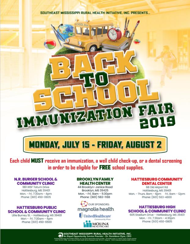 Back to School Immunization Fair Featured Photo