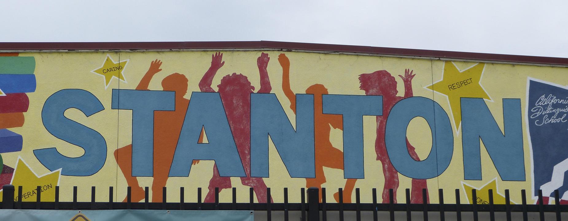 stanton mural