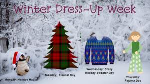 Winter Dress-up week