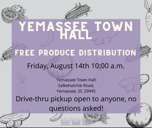 Fresh Produce Distribution - August 14, 2020