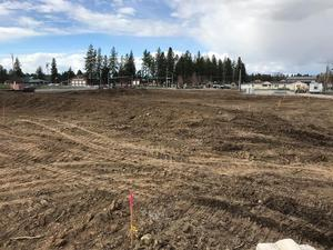 New Maintenance Department Building Site Work